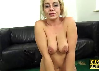 Awesome face-fucking with a sweet blonde