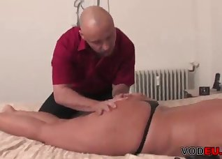 Toned angel nailed hard in the bedroom